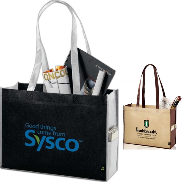 36-Hour Polypro - Small Shopper Tote - Free Rush! Photo