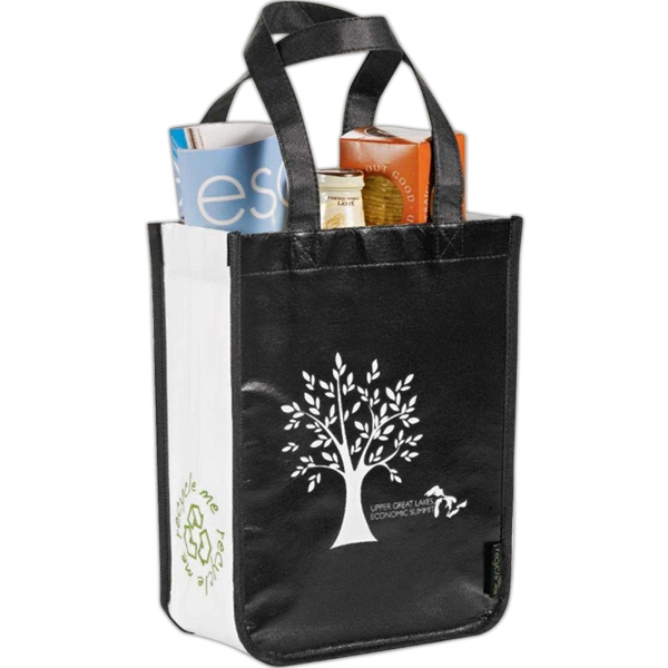 Laminated Non-woven Small Shopper Tote Photo