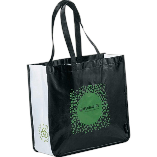 Laminated Non-woven Large Shopper Tote Photo