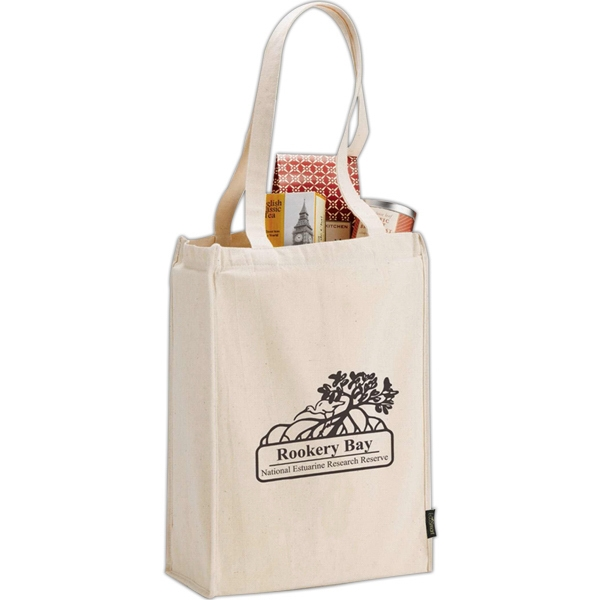 Essential (tm) - Grocery Tote, Made From Certified 100% Organic Cotton Photo