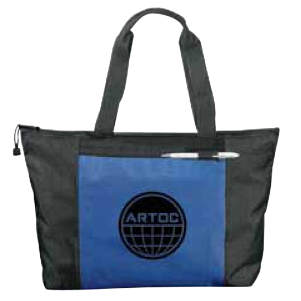 Excel Sport - Zippered Meeting Tote With Zippered Main Compartment Photo