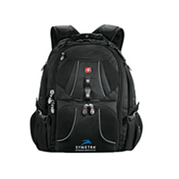 Wenger (r) - Black1680 Denier Polyester Computer Backpack Photo