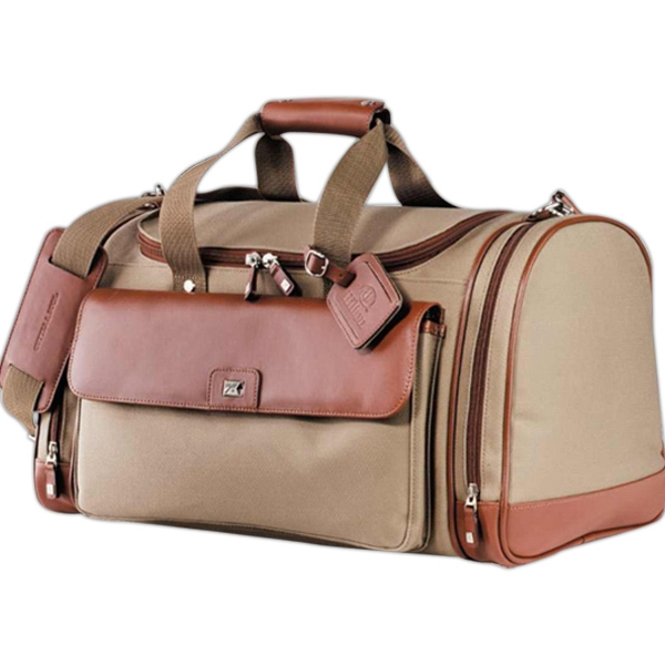Cutter & Buck (r) - Club Duffel Bag Made Of Genuine Leather Photo