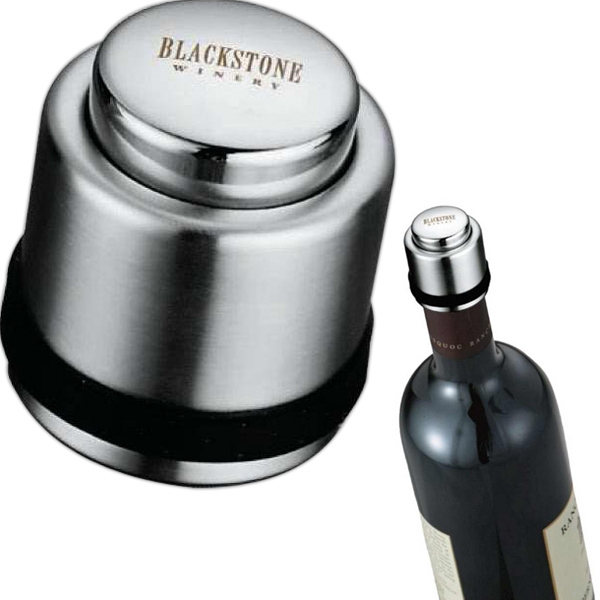 Zippo (r) - Silver Wine Bottle Cap With A Quick Release Button Photo