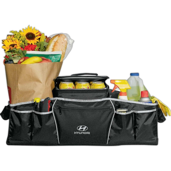 Cargo - Black Combination Cooler And Trunk Organizer, Made Of 400 Denier Nylon Photo