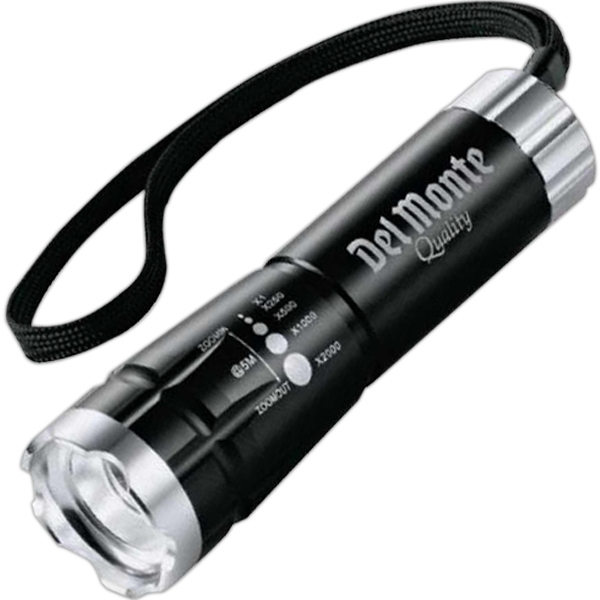 Garrity (r) Zoomin - Zoomed Led Flashlight With Push Button On/off And Wrist Strap Photo
