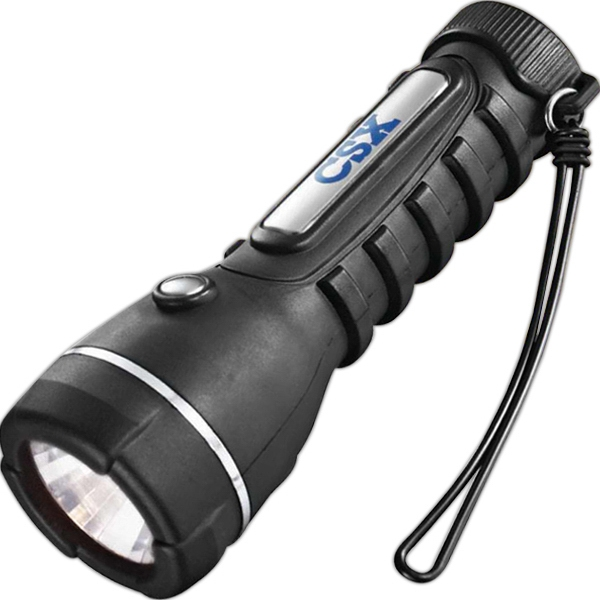 Garrity (r) Tuff Lite - Black Flashlight With Patented Multi-faceted Reflector Photo