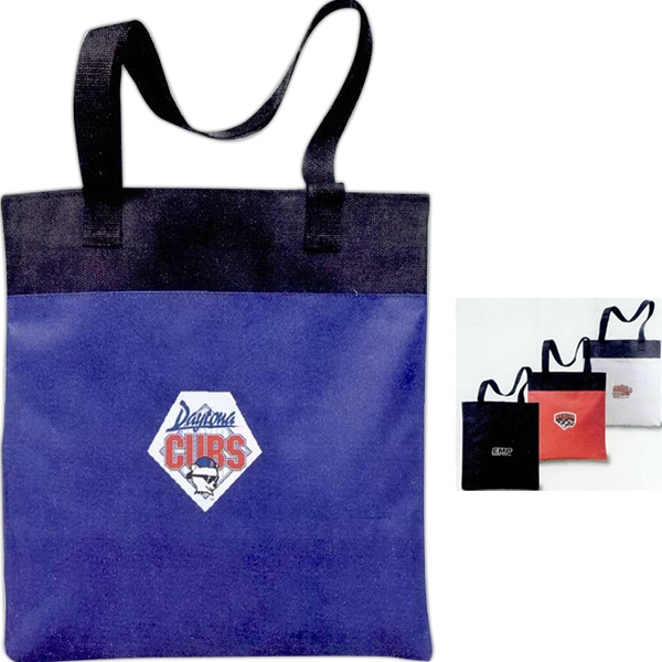 "Nexus - Meeting Tote Made Of 600 Denier Polyester With 12"" Drop Handle Photo"