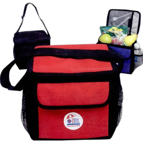 Six Can Polyester Cooler Bag Photo