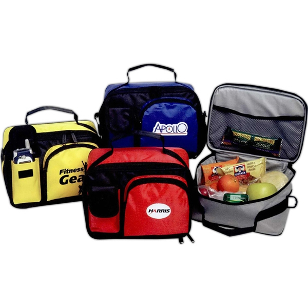 Rondo - Lunch Cooler Bag, Nylon, Zip Storage Pocket, Mesh Storage Pocket Photo
