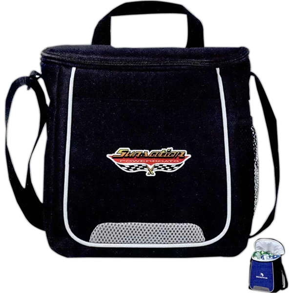Rally - Twelve Can Cooler Bag With Air Mesh Accents Photo