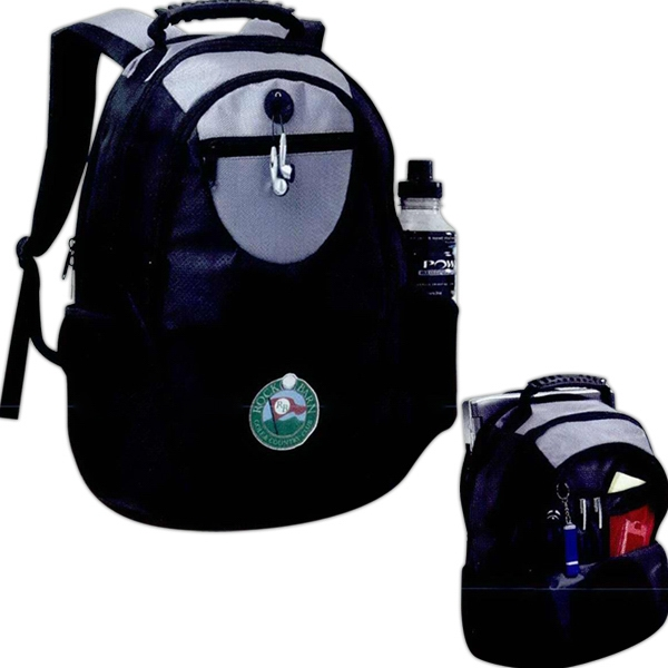 Jazz - Computer Backpack, With Zip Pockets And Business Accessory Organizer Photo