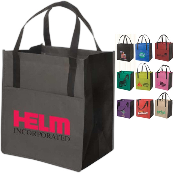 Eco-responsible Metro Enviro-shopper - Non Woven Tote Photo