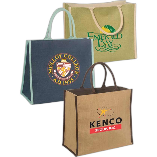 Eco-responsible Super Jute Tote Photo