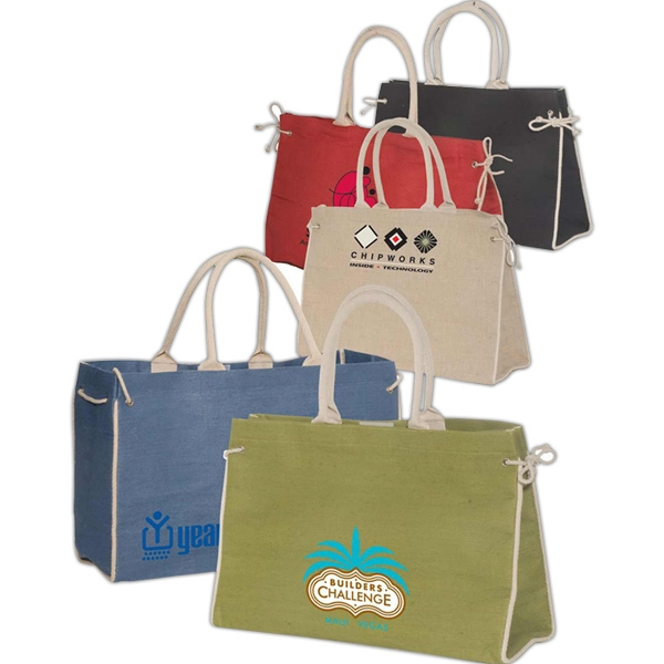 Bermuda - Tote Bag With Padded Cotton Handles Photo