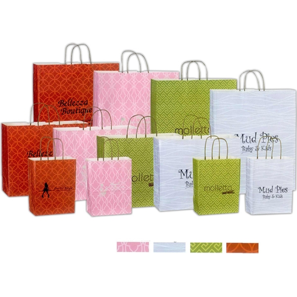 Blank Bag - Kaleidoscope Paper Shopping Bag