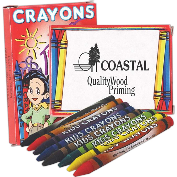 Eight Pack Of Crayons Photo