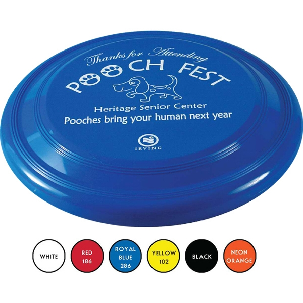 "Dog Safe 9"" Diameter Flying Disc, 1"" Deep Photo"