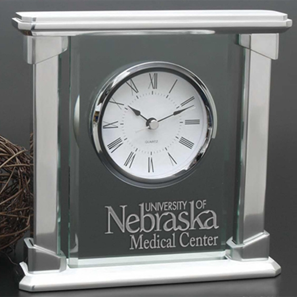 Parthenon Windsor Collection - An Excellent Speaker Gift, This Clock Marries The Dignified And The Contemporary Photo