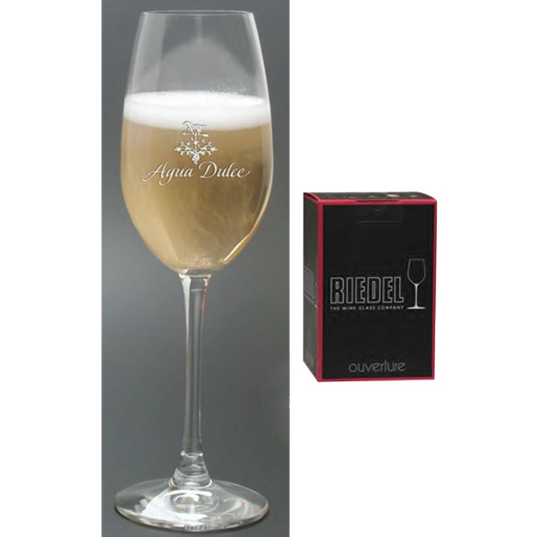 Riedel Ouverture Collection Windsor Collection - Set Of Two, Crystal 9 Oz Champagne Glasses Photo