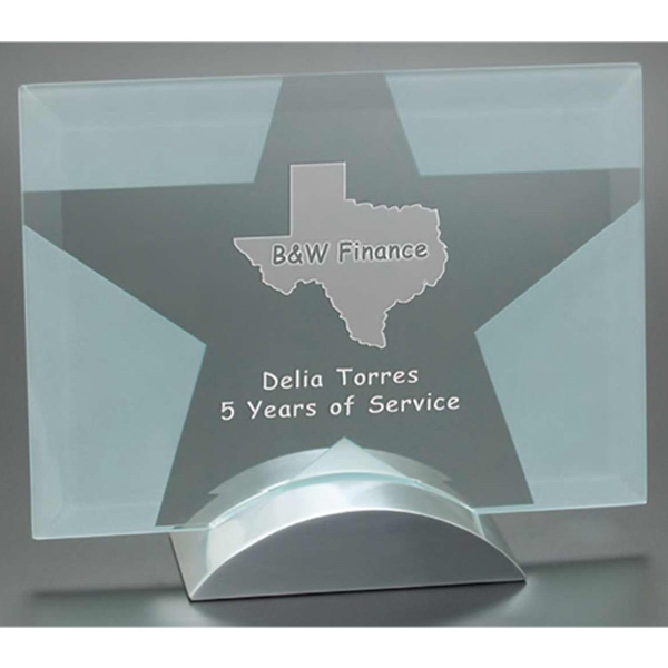 Prisma Windsor Collection - This Award Is Made Of Jade Glass Photo