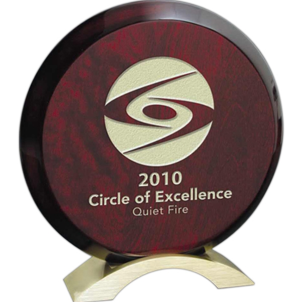 Aureole Windsor Collection - Medium Aureole Award - This Plaque Is Pre-drilled To Be Hung In Vertical Or Horizontal Formats Photo
