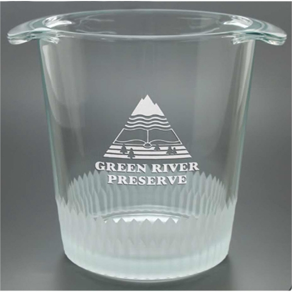 Chelsea Collection Windsor Collection - Ice Bucket With Cut Glass Design, 5 Inches Tall Photo