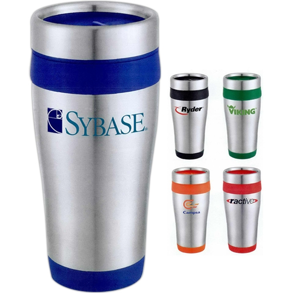 Carmel - Stainless Steel Travel Tumbler With Plastic Liner Photo