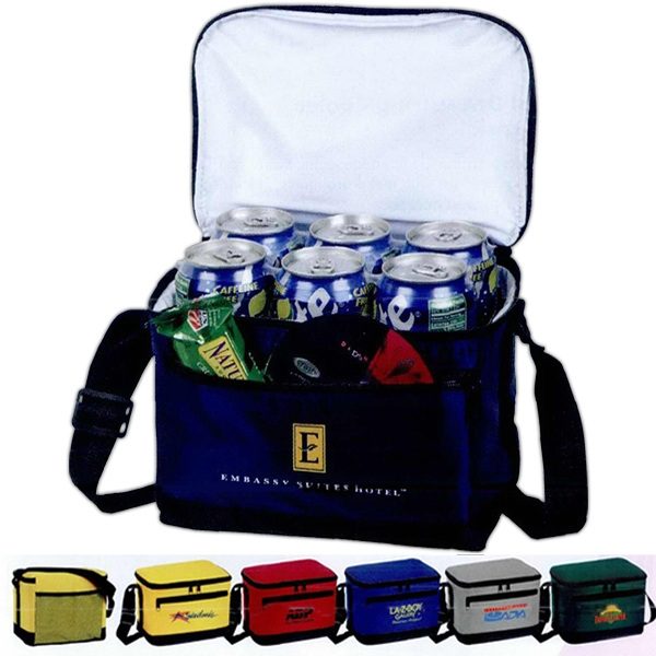 Deluxe, 6 Pack Insulated Bag With Foam Insulated Waterproof Lining Photo