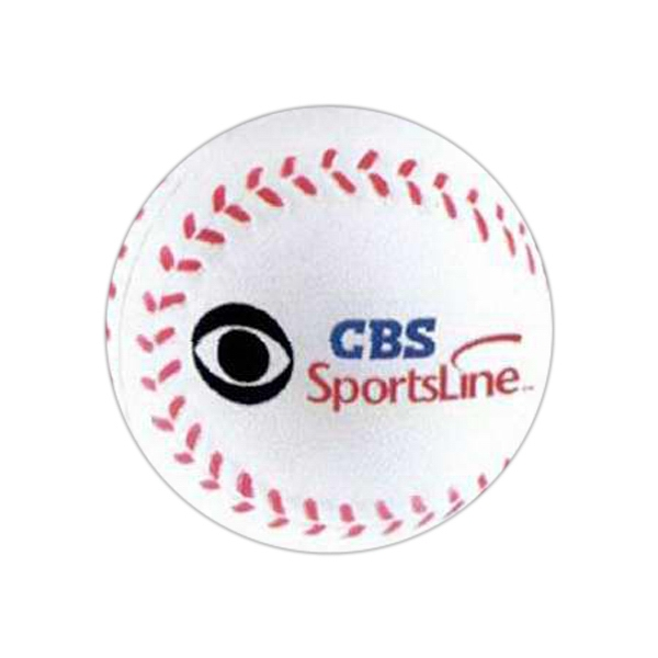 Baseball - Sports Ball Stress Reliever. Squeezable Foam Stress Ball Photo
