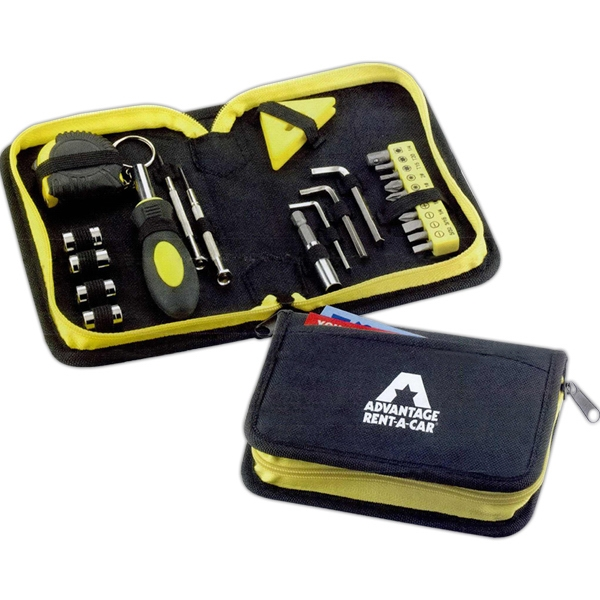 23-piece Tool Set. Woven Nylon Case With Carbon Steel Tools Photo