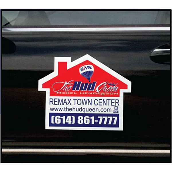 House - Die Cut Car Magnet, Adheres To A Vehicle Door Or Other Metal Surface Photo