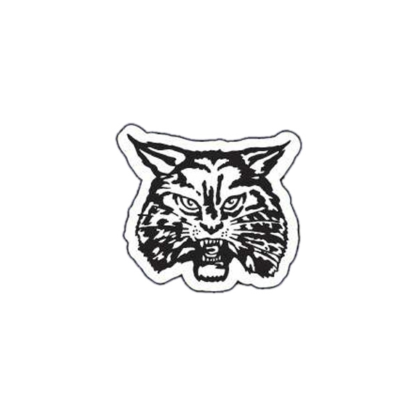 Wildcat - Lightweight Plastic Sports Badge With Safety Pin Or Magnet Backing Photo