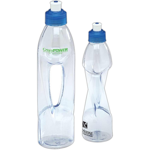 H2o Twist - This Reusable 16.9 Oz. H20 Bottle Has A Fun Twist Design Photo