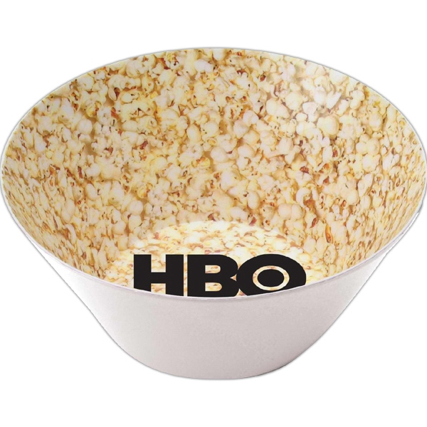 Melamine Popcorn Or Serving Bowl With Either Inside Or Outside Decoration Photo
