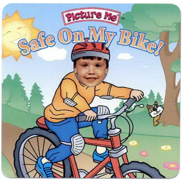 Pictureme (r) - Child's Book Teaching How To Be Safe On Their Bike Photo