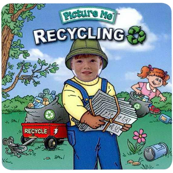 Pictureme (r) - Child's Book Teaching The Value Of Recycling Photo