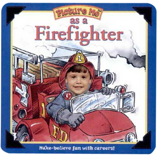 Pictureme (r) - Firefighter Book With Your Child As The Main Character Photo