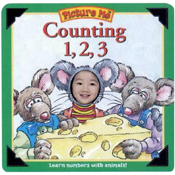 Pictureme (r) - Counting 1,2,3 Book With Your Child As The Main Character Photo