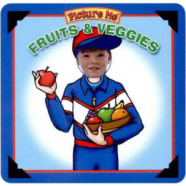 Pictureme (r) - Fruits And Veggies Book With Your Child As The Main Character Photo