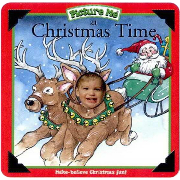 Pictureme (r) - At Christmas Time Book With Your Child As The Main Character Photo