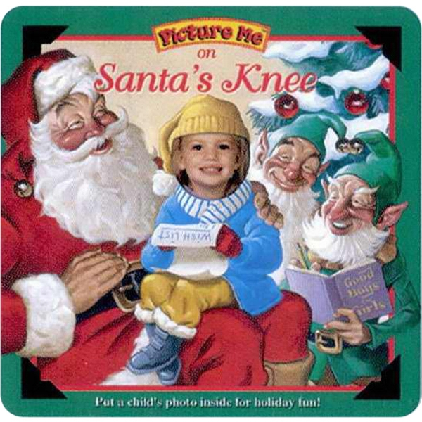 Pictureme (r) - On Santa's Knee Book With Your Child As The Main Character Photo