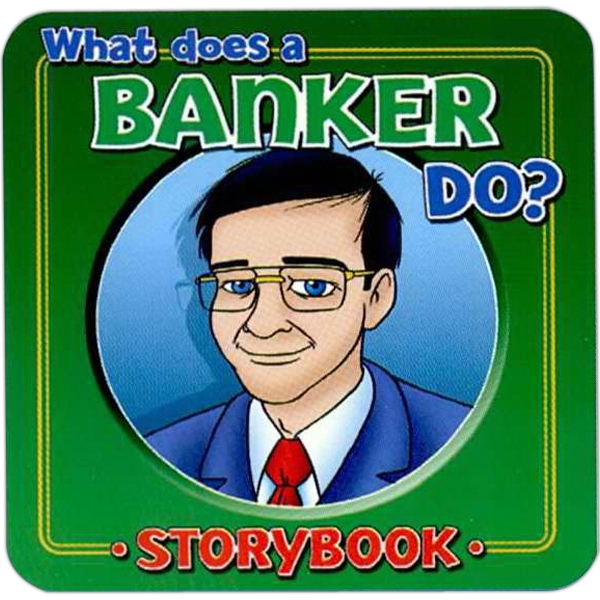 Children's Storybook On What A Banker Does Photo