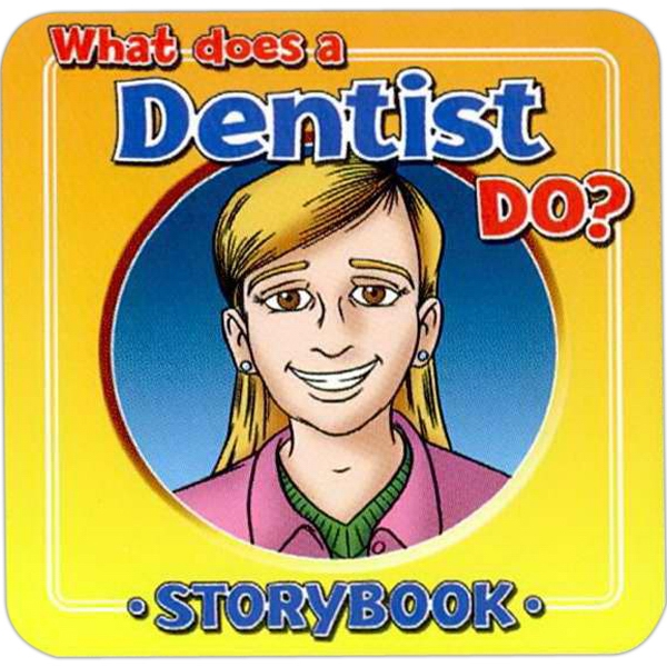 Children's Storybook On What A Dentist Does Photo