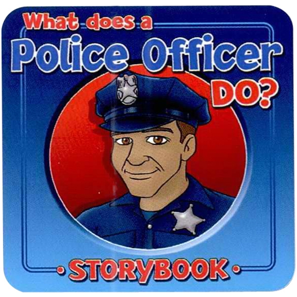 Children's Storybook On What A Police Officer Does Photo