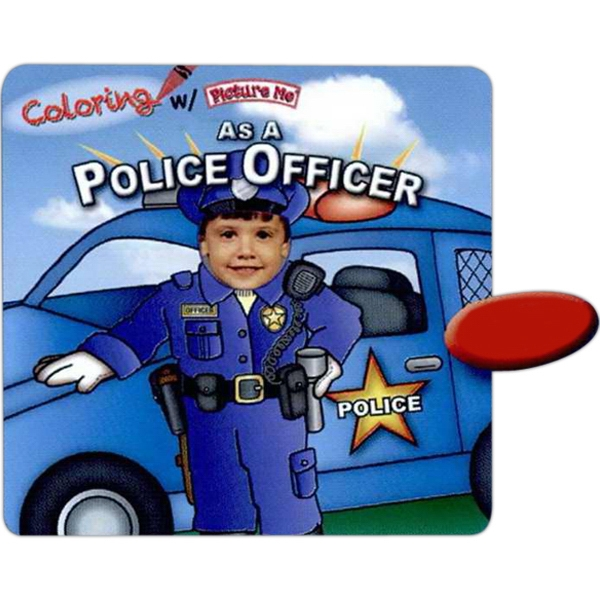 Coloring With Picture Me(r) - Children's Coloring Book On Being A Police Officer Photo