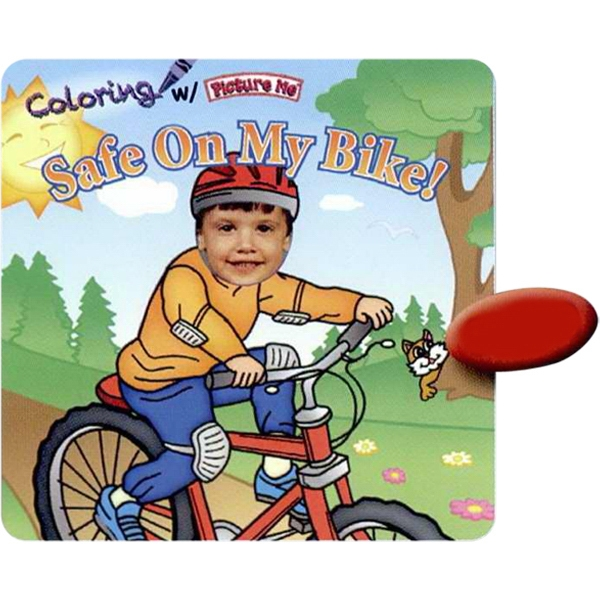 Coloring With Picture Me(r) - Children's Coloring Book On How To Be Safe On The Bike Photo