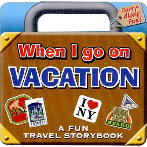 Handle Books - Children Learn About The Fun Of Going On Vacation With This Book Photo