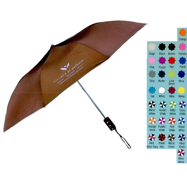 The Revolution - Automatic Opening Folding Nylon Umbrella With Machine Tips Photo