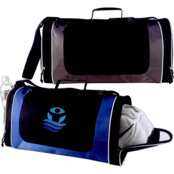 Energy - Duffel Bag Made Of 600 Denier/pvc With Diamond Weave 420 Denier Nylon Trim Photo